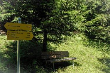 Wanderwege ab der Kräutlhütte