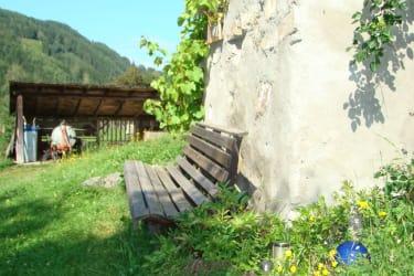 Ein ruhiges und gemütliches Plätzchen im Garten