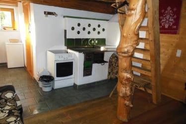 Holzknechthütte Holzherd