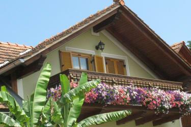 Balkon unserer Zweizimmerferienwohnung
