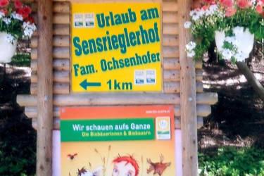 Willkommen am Sensrieglerhof - Familie Ochsenhofer