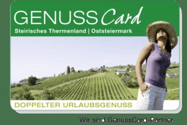 GenussCard Thermenland | Oststeiermark