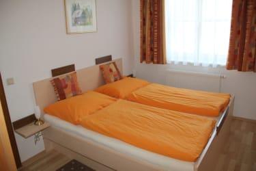 gemütliches Schlafzimmer im Herzl