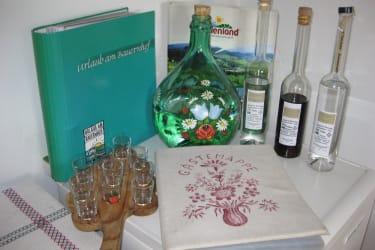 Gästemappen mit vielen Informationen