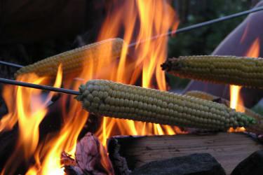 Kukuruz im Feuer