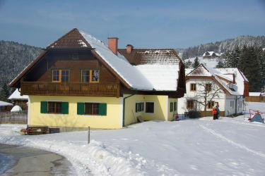 beide Häuser Winter