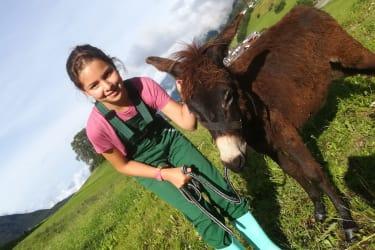 Bauernhoferlebnis für Kinder