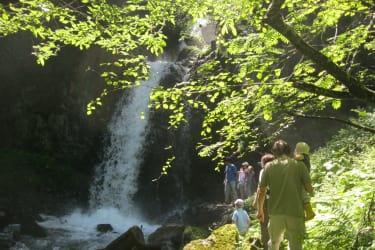 Die Natur erleben. Die Sonnenstrahlen spüren. Vom Wasser berauschen lassen.  Am Kinderbauernhof Ierzerhof im Pitztal, Tirol