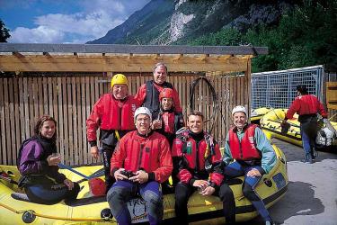 Abenteuer pur - Auf zum Rafting