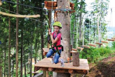 Der XP Abenteuerpark in Jerzens