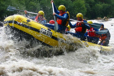 Rafting am Inn