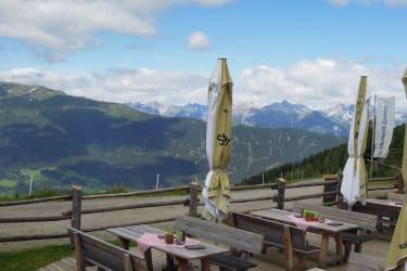 Wunderschöner Ausblick von der Terrasse