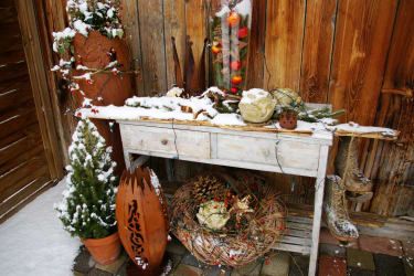 Winter-Weihnachtsstimmung