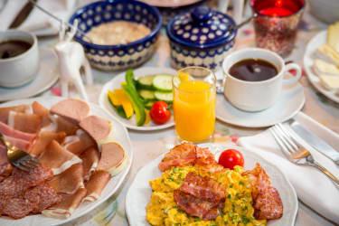 Frühstücksbuffet Almhof