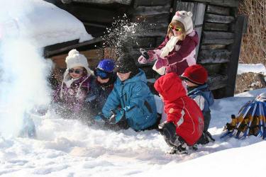 Kinder Winterurlaub
