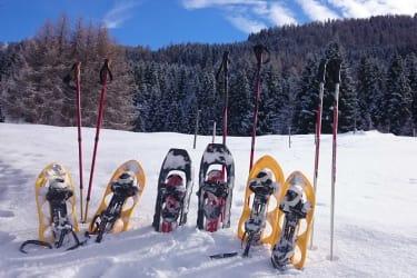 Schneeschuhe Winterurlaub Pitztal
