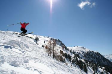 Skifahren am Hochzeiger Jerzens Pitztal