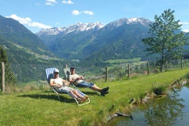 Relaxen am Fischteich