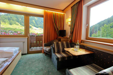 Appartement Almrose Sitzecke