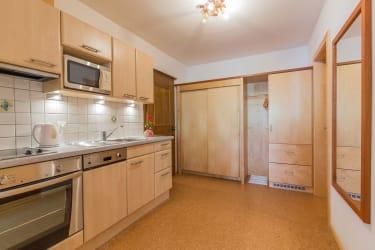 Appartement Kleeblatt Küche