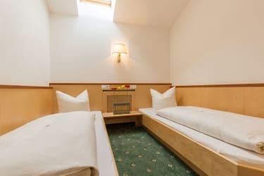 Appartement Kleeblatt Schlafzimmer