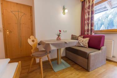 Appartement Silberdistel Sitzecke