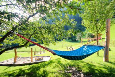 Abenteuerspielplatz für Kinder - HÄNGEMATTE