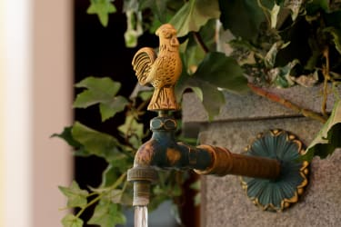 Wellnessoase Felsenbrunnen mit Quellwasser
