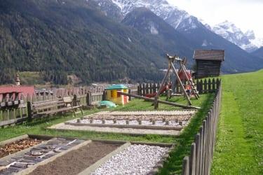 Barefoot garden and playground