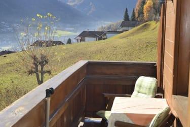 Balkon Fewo Bergblick