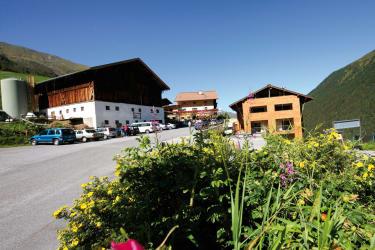 Alpengasthof Praxmar im Sommer