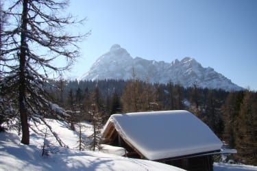 Winterlandschaft Serlesblick