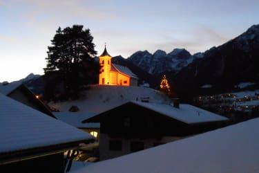 Kalvarienberg zu Weihnachten