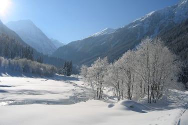 Winterstimmung Stubaital