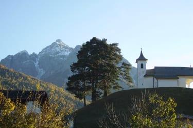 Kalvarienberg gegen Serles