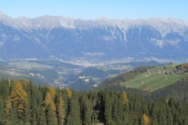 Gullenhütte Blick Nordkette Innsbruck
