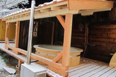Gullenhütte Zuber mit Sauna