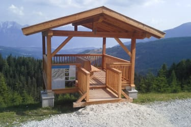 Gullenhütte In der Nähe Aussichtswarte 1