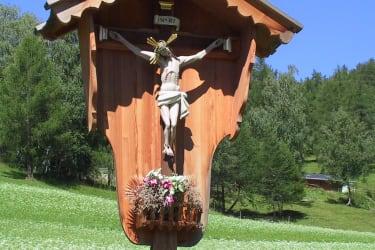 Unser Feldkreuz beim Hof