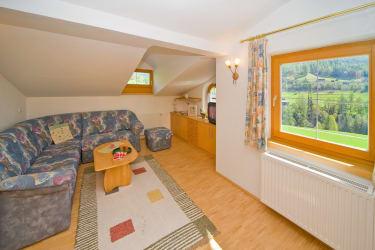 Wohnzimmer der Ferienwohnung 1