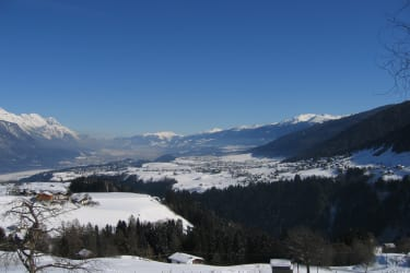 Winter Ausblick Inntal