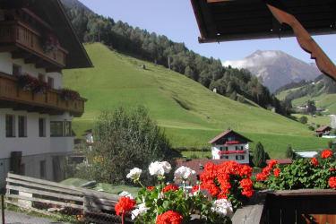 herrlicher Blick vom Balkon auf den Freihut