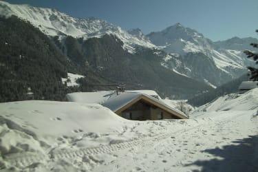 herrliches Bergpanorama in Praxmar, mit rotem Kogel und Viller Spitze