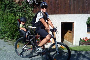 Der Kassnhof ist auch ideal gelegen für Biketouren