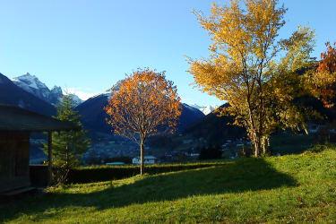 Der Herbst mit seinen bunten Farben.