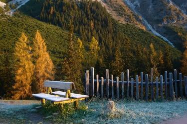 Herbstmorgen im Schlickertal
