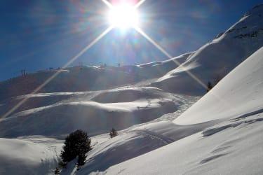 Unser schneesicheres Skigebiet Schlick 2000