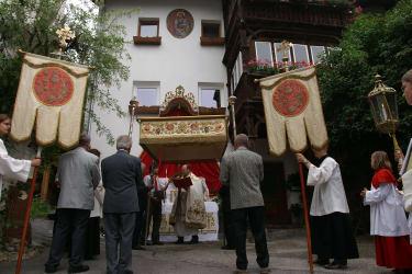 Altar am Kassnhof- seit Jahrzehnten  ein fixer Bestandteil