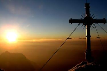 Gipfelkreuz des Habicht 3277