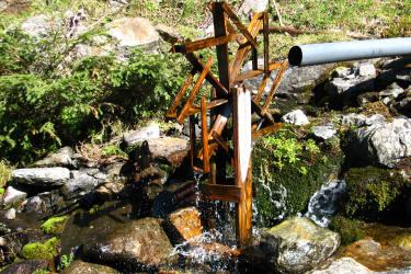 Wasserrad Zeischalm